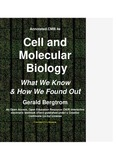 Annotated Cell and Molecular Biology 4e: What We Know and How We Found Out